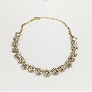 J. Crew Crystal Rhinestone Statement Necklace
